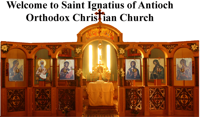 St. Ignatius Church iconostasis